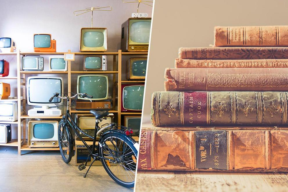 Best form of relaxation: Watching TV or reading books?
