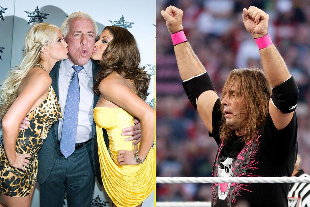Greatest wrestler of all time: Rick Flair or Bret 'The Hitman' Hart?