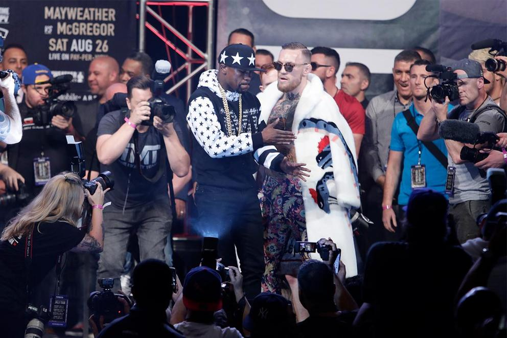 Who benefits more from 8-ounce gloves: Floyd Mayweather or Conor McGregor?