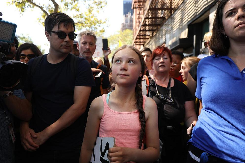 Is Greta Thunberg a hero?