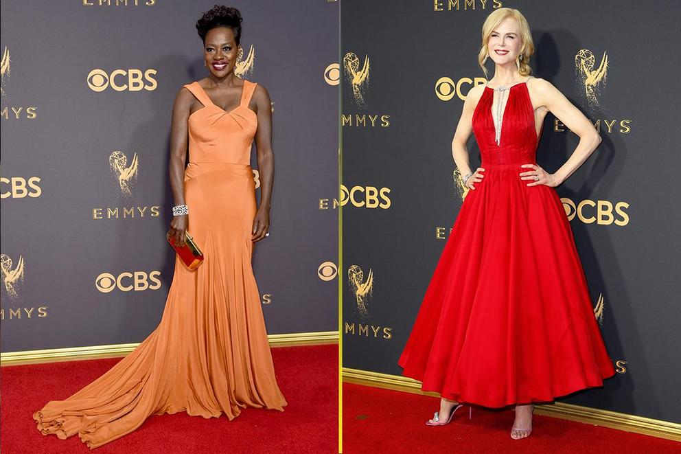 Who was best dressed at the Emmys: Viola Davis or Nicole Kidman?