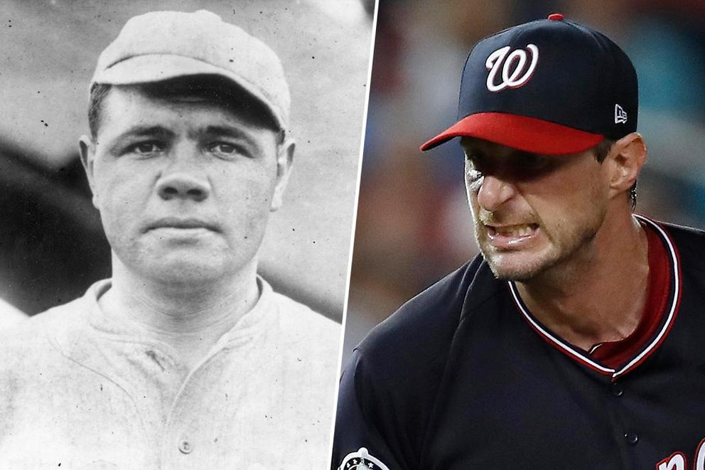 Babe Ruth vs. Max Scherzer: Who would win in this dream matchup?