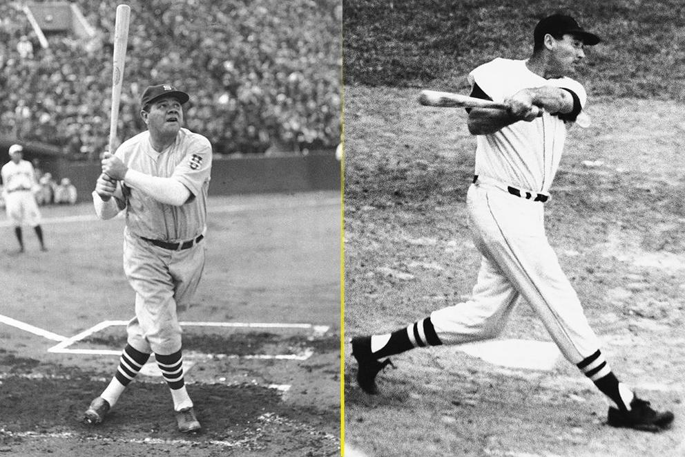 Most legendary hitter of all time: Babe Ruth or Ted Williams?