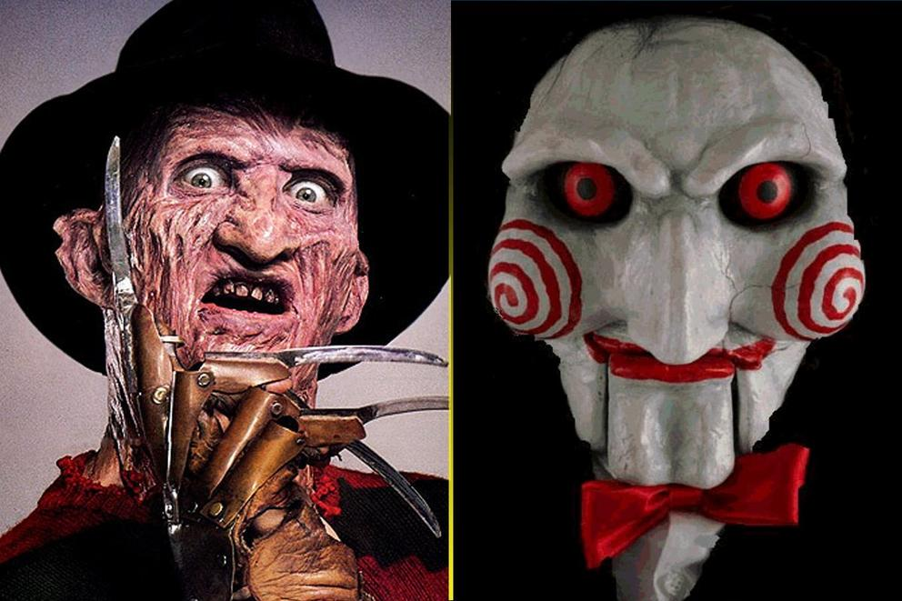 Scariest movie monster: Freddy Krueger or Jigsaw?