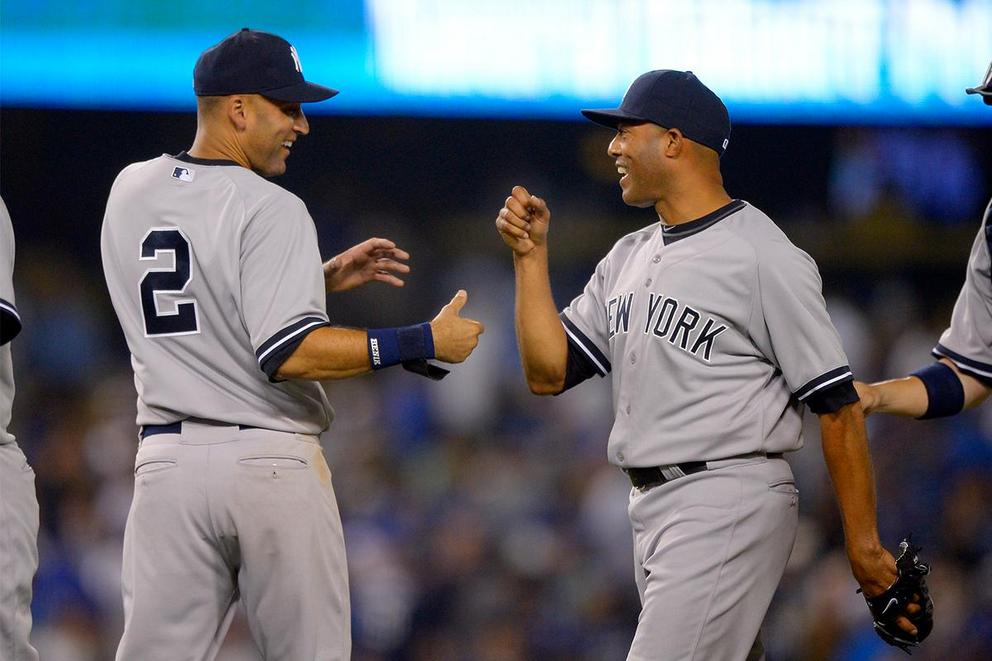 Who's the more beloved New York Yankee: Derek Jeter or Mariano Rivera?