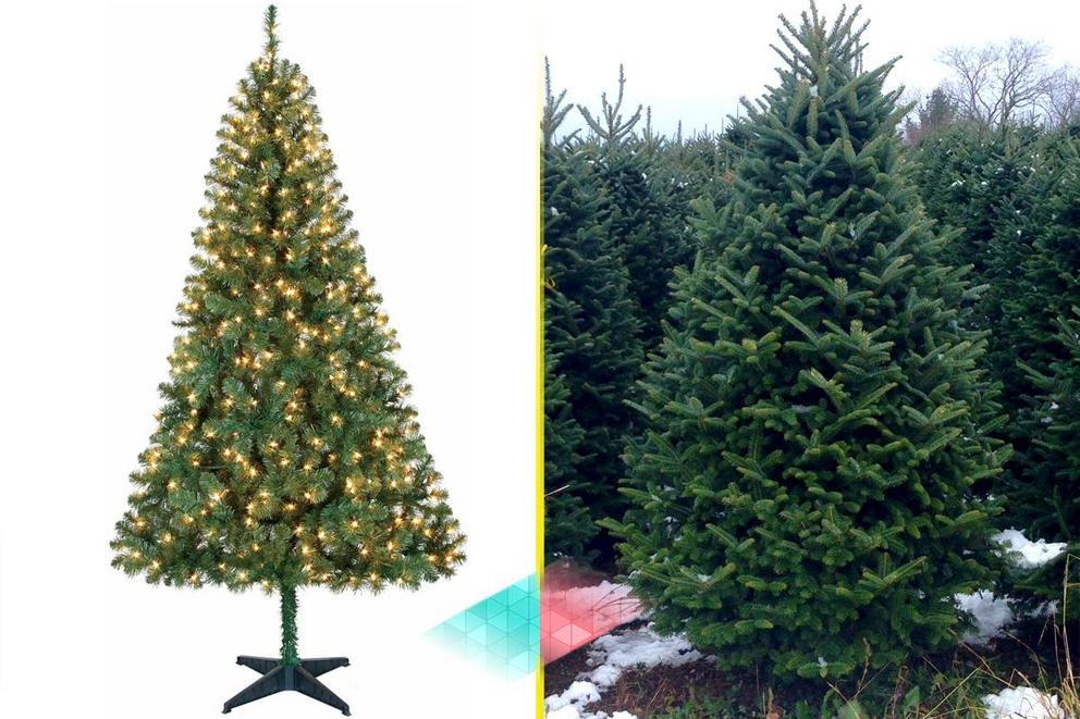 Are fake Christmas trees better than real ones?