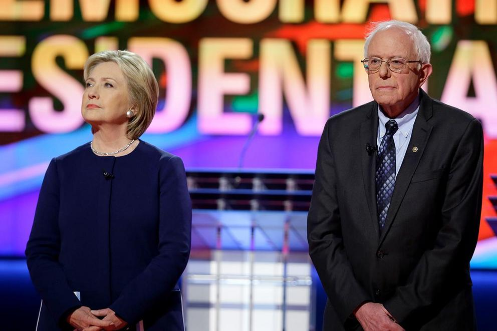 Is Hillary Clinton wrong to blame Bernie Sanders for her loss?