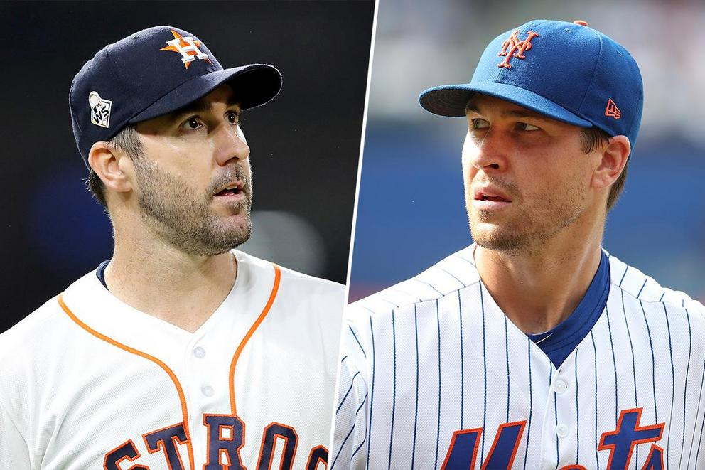 Who do you trust more on the mound: Justin Verlander or Jacob deGrom?