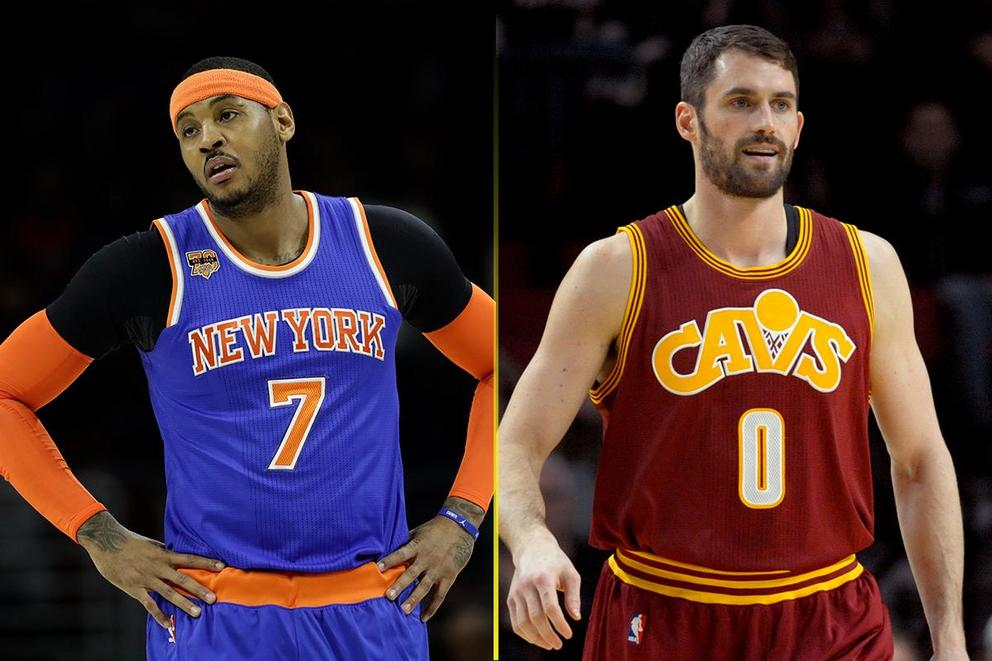 Should the Cavaliers trade Kevin Love for Carmelo Anthony?