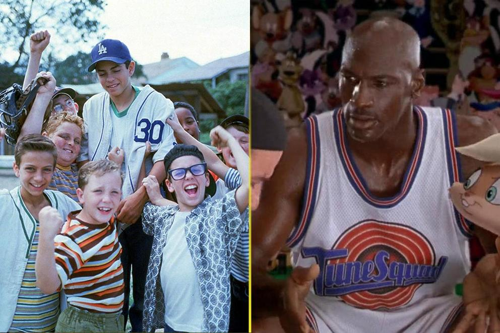 Greatest sports movie of all time: 'The Sandlot' or 'Space Jam'?