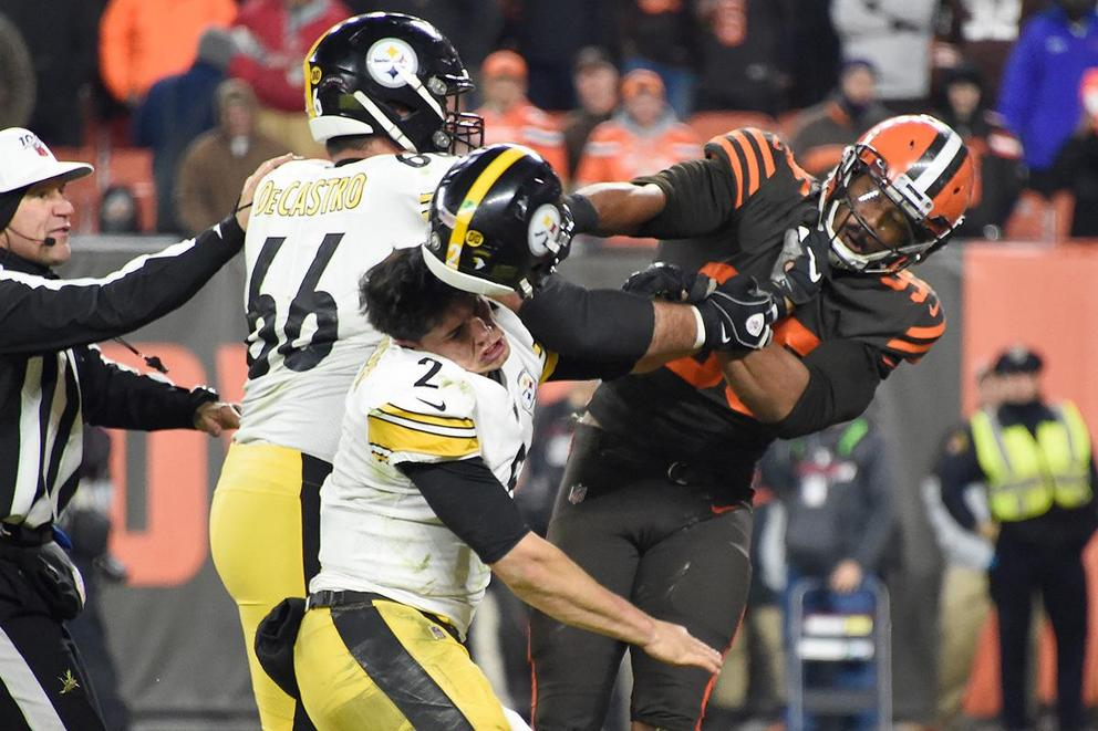 Should Myles Garrett be charged with assault?