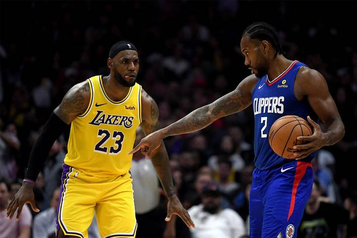 Who rules L.A. basketball: LeBron James or Kawhi Leonard?