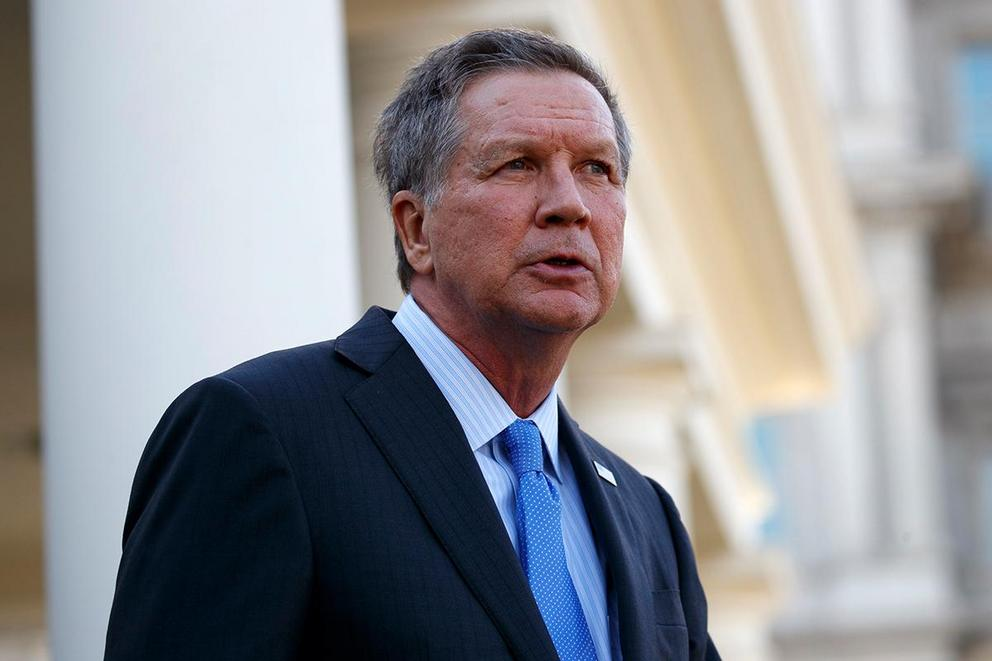 Should John Kasich leave the Republican Party?