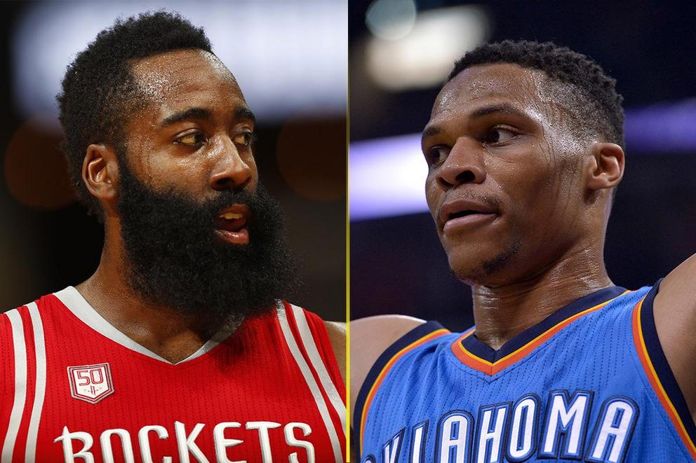 Who should win 2017 NBA MVP: James Harden or Russell Westbrook?