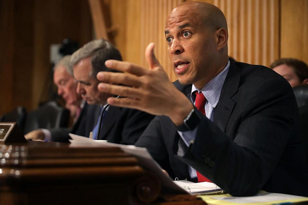 Is Cory Booker a patriot or just a grandstander?