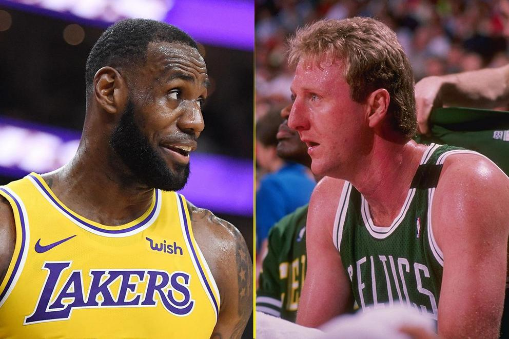 Greatest NBA player ever: LeBron James or Larry Bird?