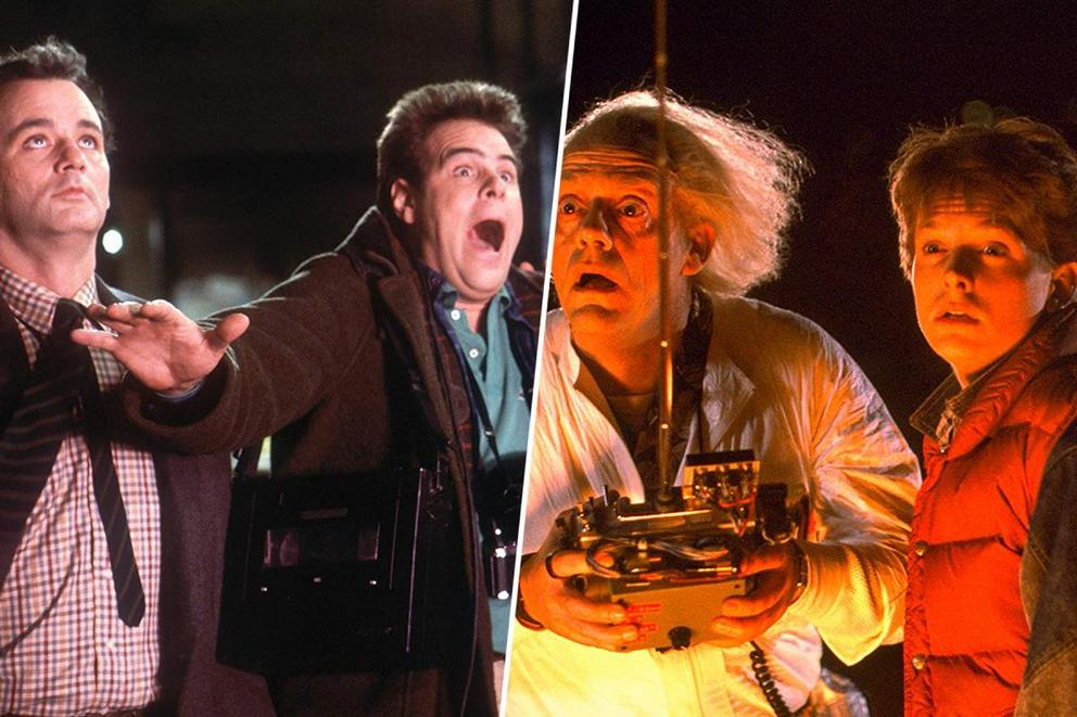 Which '80s geek blockbuster do you love more: 'Ghostbusters' or 'Back to the Future'?