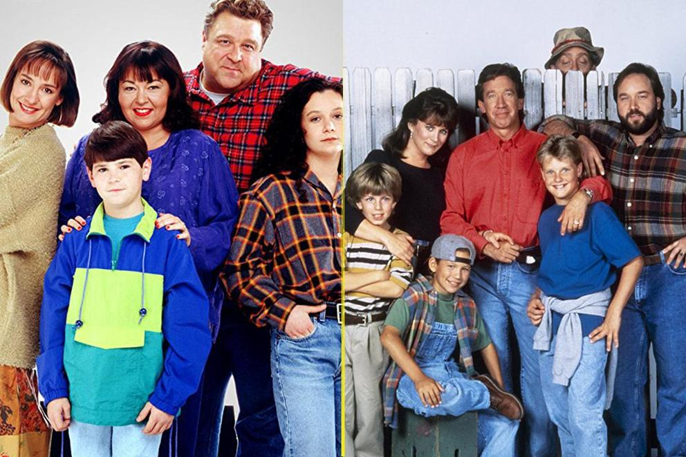 Best sitcom only '90s kids would remember: 'Roseanne' or 'Home Improvement'?