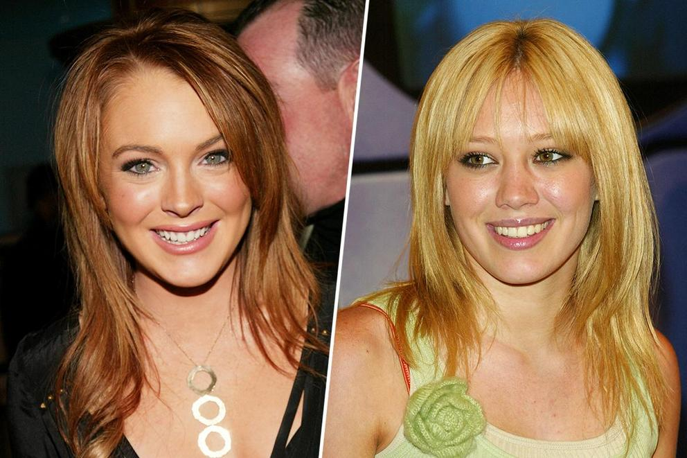 Favorite teen queen from the aughts: Lindsay Lohan or Hilary Duff?