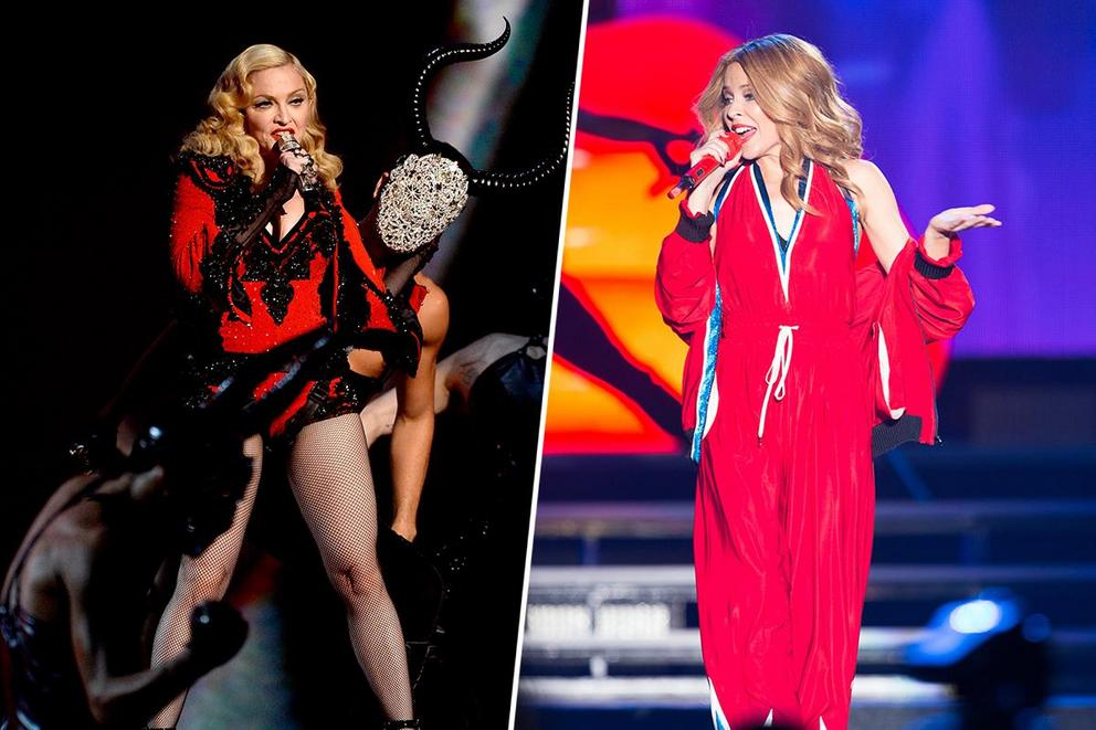 Favorite dance-pop queen: Madonna or Kylie Minogue?