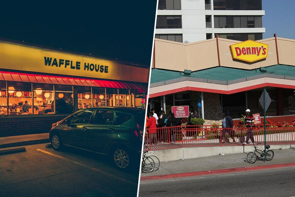 Best breakfast chain: Waffle House or Denny's?