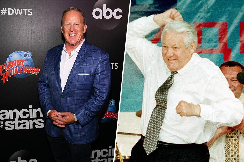 Who would you rather see dance: Sean Spicer or Boris Yeltsin?