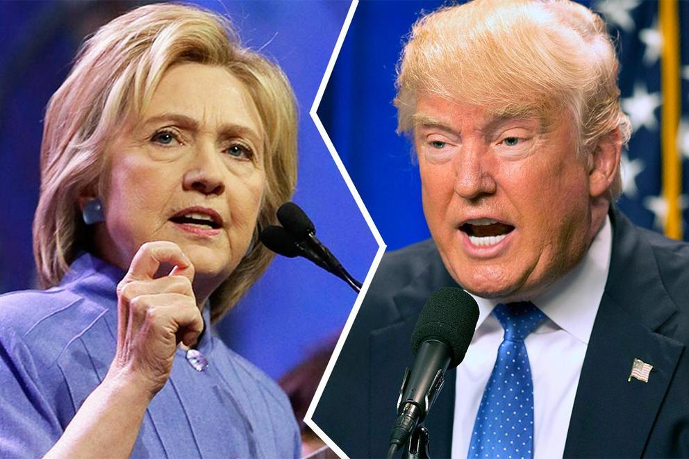 Who dominated the presidential forum: Trump or Clinton?