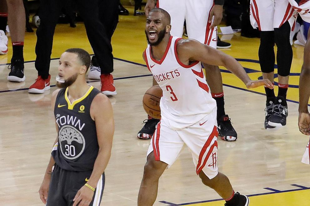 Chris Paul vs. Stephen Curry: Who had the better shimmy?