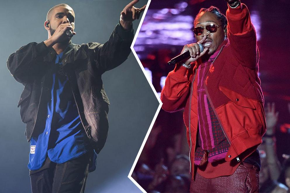Who will win Favorite Rap/Hip-Hop Artist at the AMAs: Drake or Future?