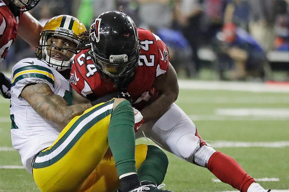 Does Devonta Freeman deserve to be the highest paid running back in the NFL?
