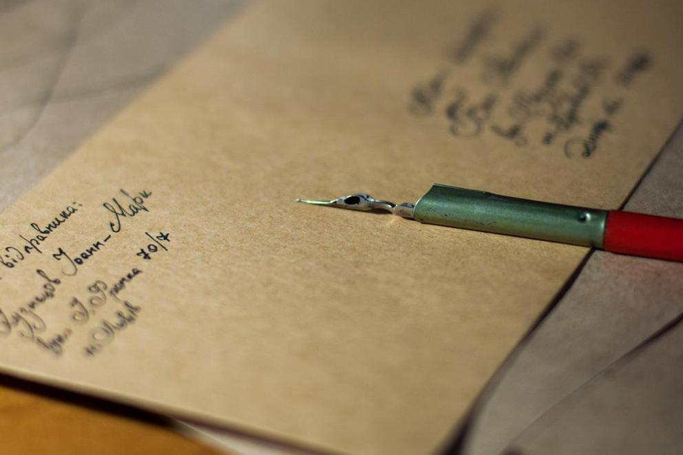 Do you still write letters?