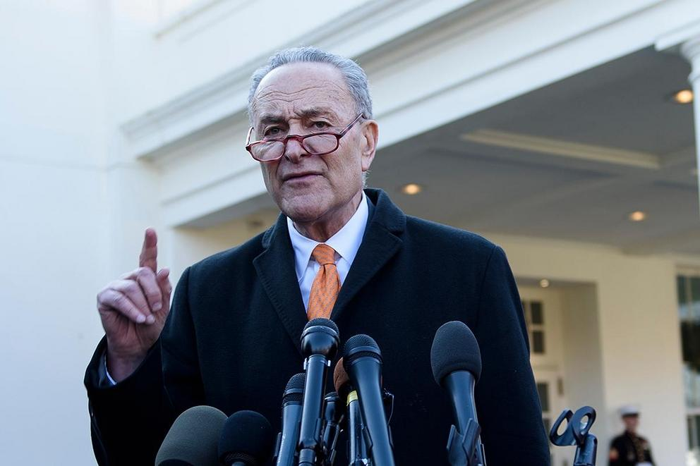 Is Chuck Schumer the worst possible leader for the Democrats?