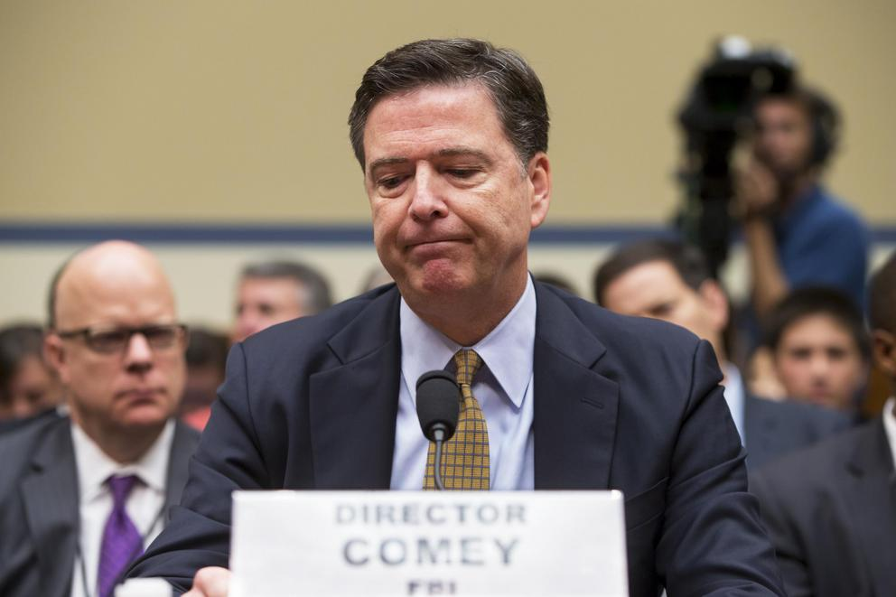 Should FBI Director James Comey lose his job?