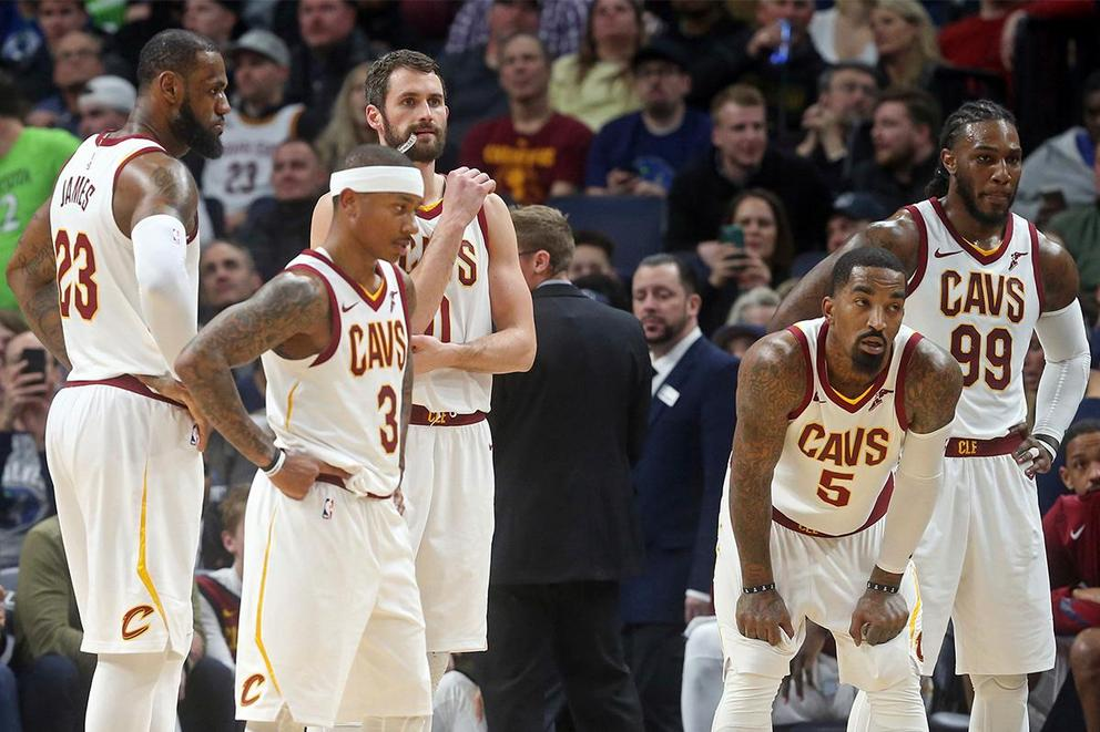 Can LeBron James save the Cleveland Cavaliers?