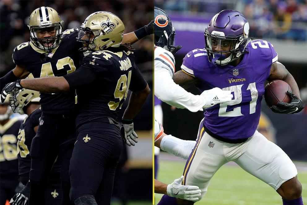 Who will win the NFL Divisional round: New Orleans Saints or Minnesota Vikings?