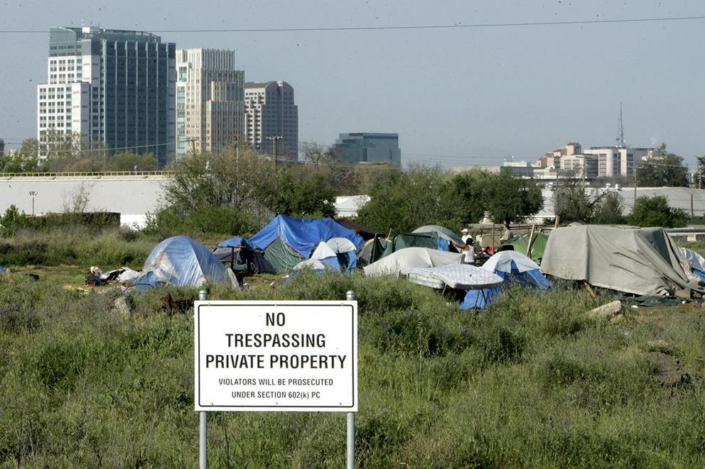 Should being homeless be a crime?