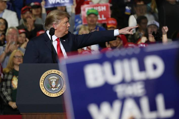 Should a sitting president hold campaign rallies after the election?