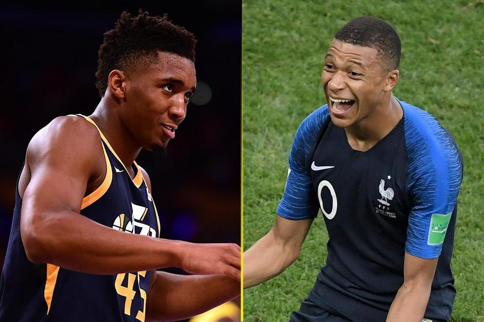 Breakout sports star of 2018: Donovan Mitchell or Kylian Mbappe?