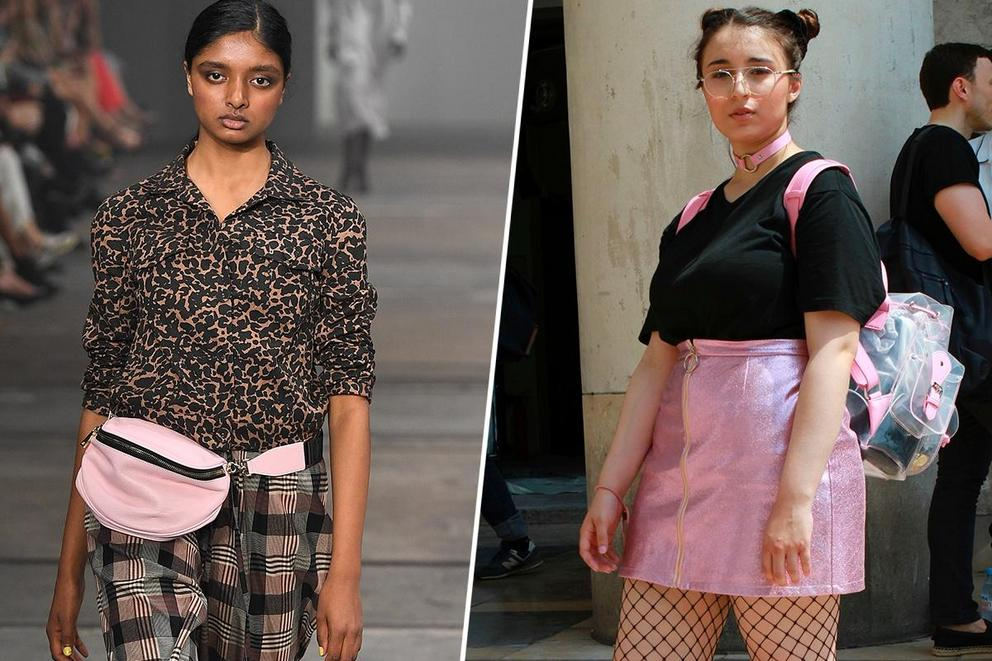 Favorite '90s trend: fanny packs or mini backpacks?