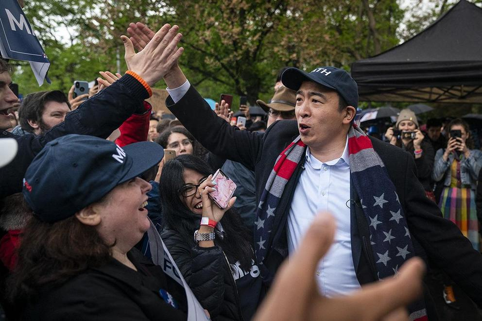 Can Andrew Yang win the Democratic presidential nomination?