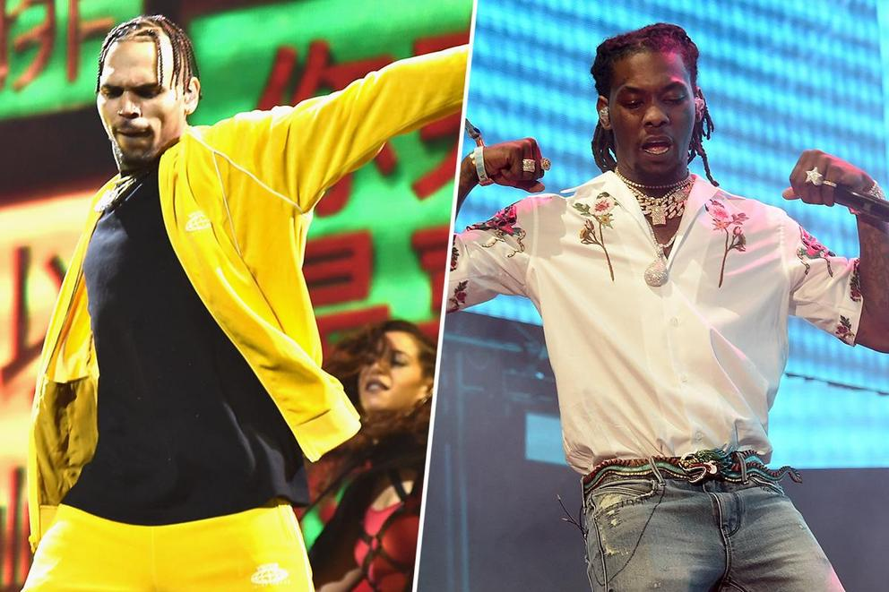 Who would win in a dance-off: Chris Brown or Offset?