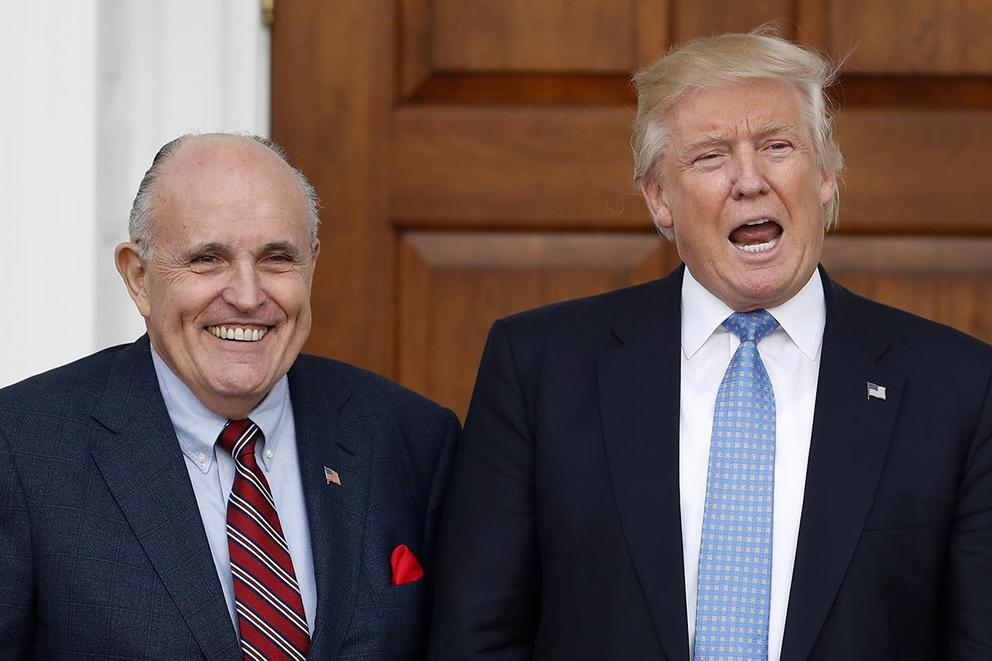 Should President Trump fire Rudy Giuliani?
