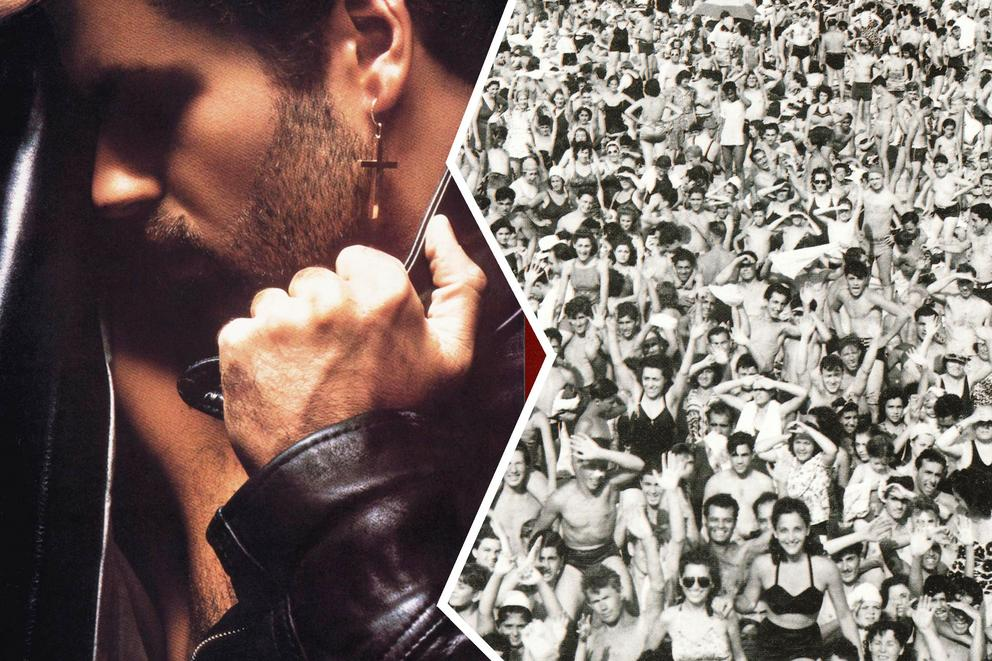 Which is George Michael's greatest album: 'Faith'  or 'Listen Without Prejudice'?