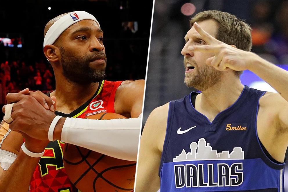 Whose knees belongs in the Basketball Hall of Fame: Vince Carter or Dirk Nowitzki?