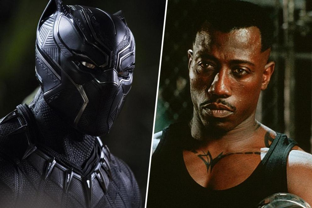 Which kick-butt superhero is your favorite: Black Panther or Blade?