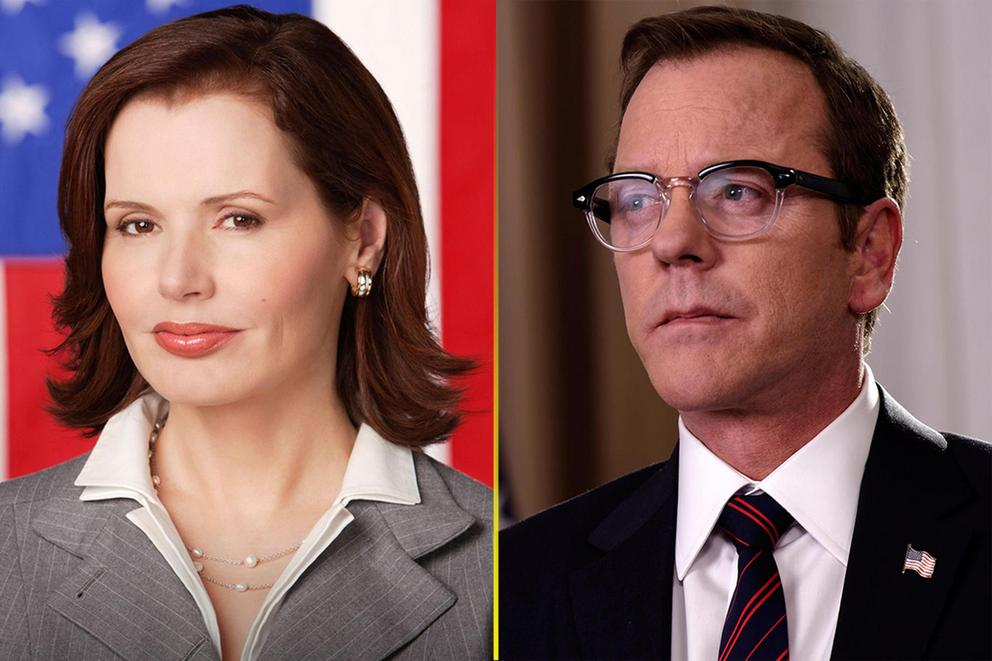 TV president you wish were real: Mackenzie Allen or Tom Kirkman?