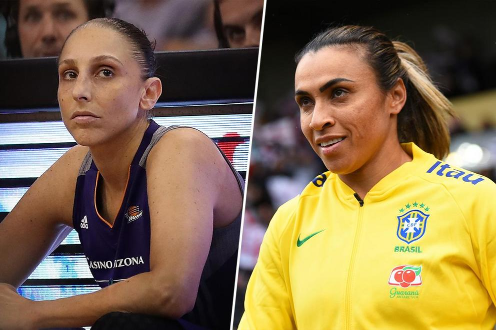 Greatest woman athlete: Diana Taurasi or Marta?