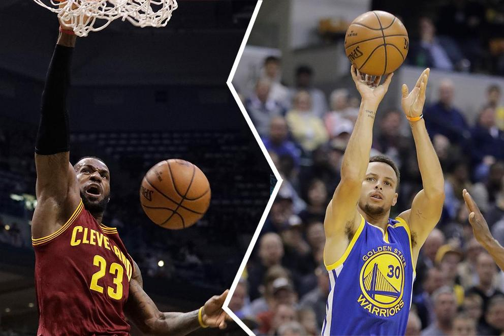 NBA player of the year: LeBron James or Steph Curry?