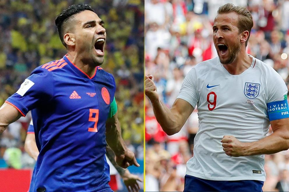 Who will advance to the World Cup quarterfinal: Colombia or England?