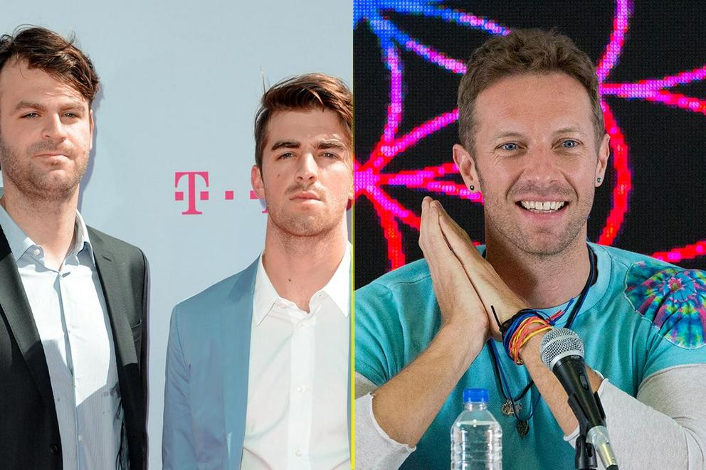Billboard's Top Duo/Group: The Chainsmokers or Coldplay?